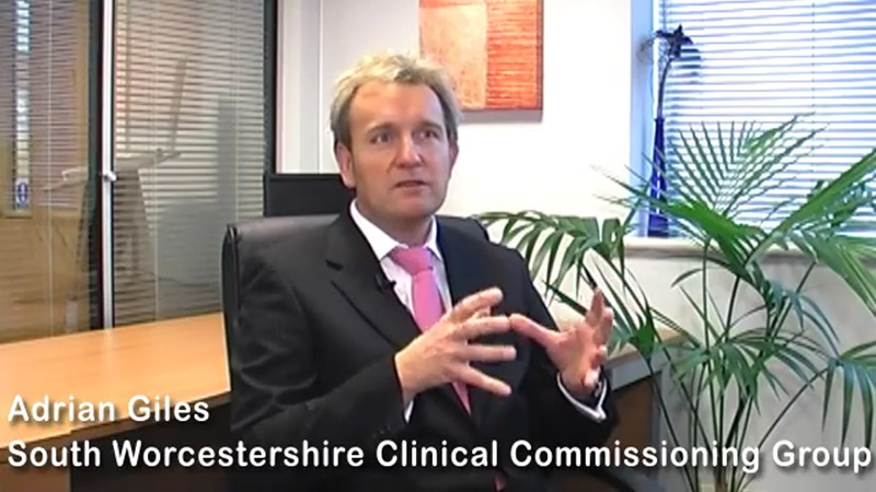 Adrian Giles of the South Worcestershire Clinical Commissioning Group