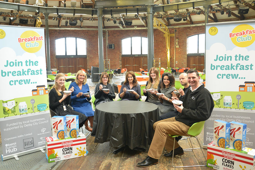 Breakfast Club Meeting at Derby Roundhouse