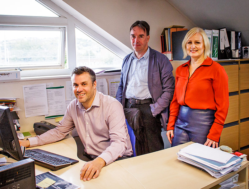 L to R: Stephen McClary: Oberoi Consulting, Matt Faye: Clinical Chief Executive of the Westcliffe Group & Julie Winterbottom: Managing Partner, Westcliffe Group