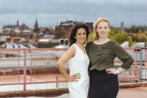 Molly Roberts and Kavita Oberoi