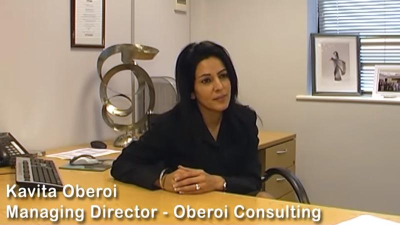 Kavita Oberoi OBE video